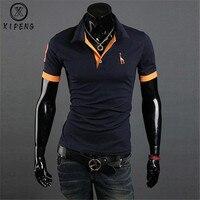 Дропшиппинг брендовая одежда новая мужская рубашка поло мужская деловая и повседневная однотонная Мужское поло рубашка с коротким рукавом...