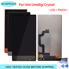 5.5 inch For Umidigi umi crystal LCD Display+Touch Screen Digitizer LCD Screen Glass Panel Assembly +tools