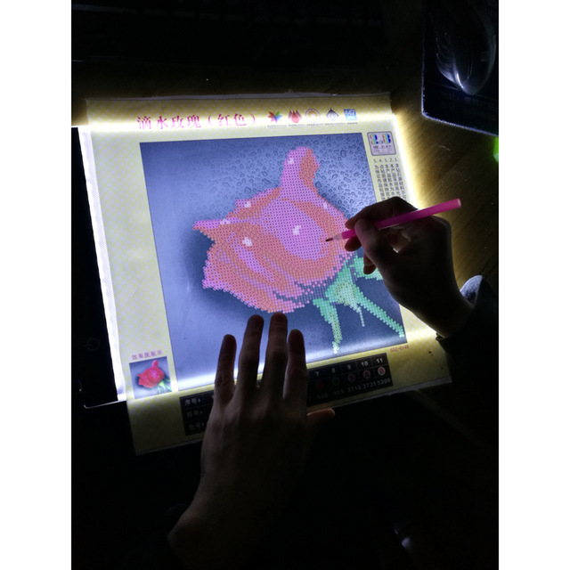 light pad daimond painting A4 LED Pad USB Cable Dimmable Ultra Thin diamond painting led light box diamond painting Embroidery