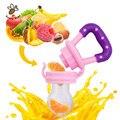 1 Unids Pacificador Del Bebé Fresh Food Nibbler Alimentador Leche Niños Pezón Alimentación Segura Bebé Suministros Pezón Chupete Pezón Botellas