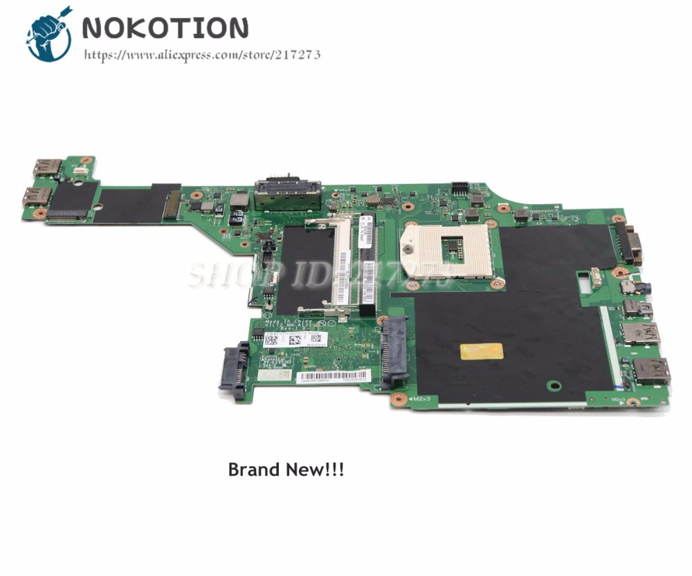 NOKOTION NEW For Lenovo Thinkpad T440P Laptop Motherboard PGA947 UMA DDR3L 00HM977 00HM971 VILT2 NM-A131 MAIN BOARD
