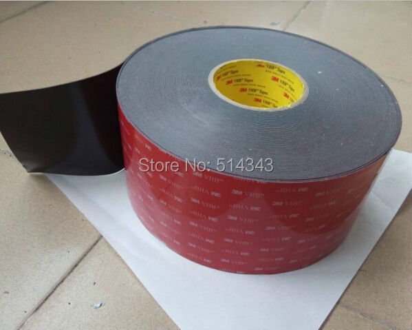 acrylic adhesive foam tape 3m double sided tape size 10mm x