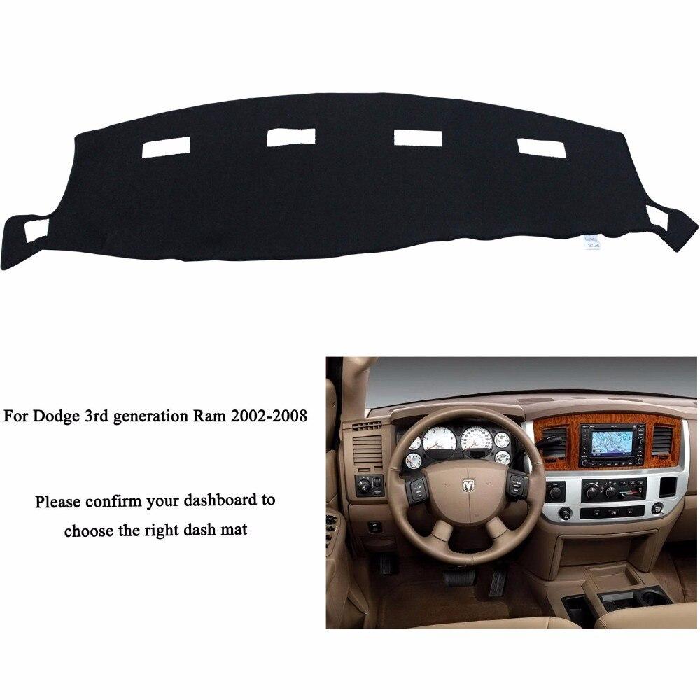 Car dashboard covers mat for Dodge 2002-2008 RAM 1500 2500 3500 Left hand drive dashmat pad dash cover auto dashboard