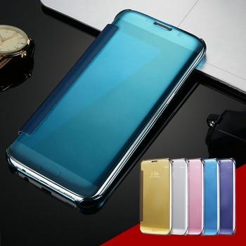 KISSCASE Case For Huawei Mate 7 8 9 P8 P9 P10 Lite Flip Mirror Case Cover For Xiaomi 5S For Xiaomi Redmi Note 3 4 4X 4 Pro Cases