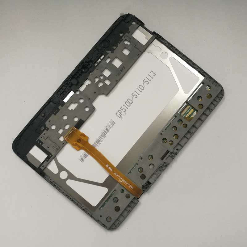 For Samsung Galaxy Tab 3 P5200 P5210 Full LCD Display Panel Monitor + Touch Screen Digitizer Sensor Assembly + Frame