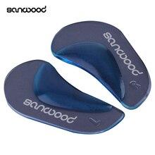 1 пара ортопедическая поддержка стельки плоскостопия корректор обуви подушка для ног
