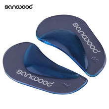 1 Pair Arch Orthotic Support Insole Flatfoot Corrector Shoe Cushion Foot Pad(China)