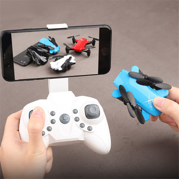 Mini Rc Drone Foldable Rc Quadcopter drone Camera RC Helicopter no cam/with HD camera Remote Control Toy Aircraft for Kids Child