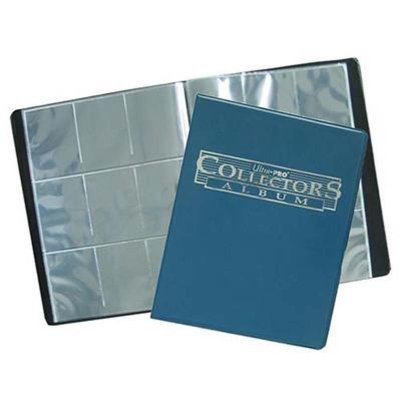 Ultra Pro Magic Cards Collectors Album with 10 Pages 9 Pockets Holding 90 Cards Album for Magic Trading Game Cards image