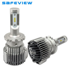 SAFEVIEW 2017 D1S LED Headlights Bulbs D2S D2R D3S D4S 36W 12V 4000lm Replace automobiles lighting bulb 6000k xenon white light