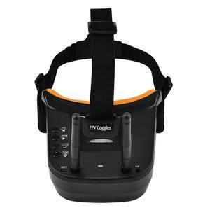 Image 2 - ミニ FPV ゴーグル 3 インチ 480 × 320 ディスプレイダブルアンテナレセプション 5.8 グラムと 40CH 用 FPV レースドローン Quadcopter