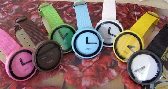 individual fashion candy color jelly watches unisex wristwatches simple bracelet quartz watch new hot selling 10pcs - Color Watches