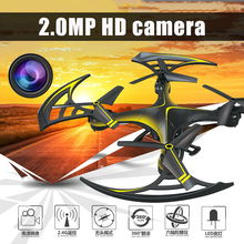 New 3D RC Drone yd-a23 with camera 2.4g 6-Axis RC Quadcopter  Helicopter Aircraft 3D Flip RTF Flying Toys gift  Resistance fall
