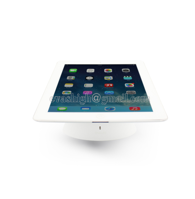 Retail Ipad Anti Theft Display Tablet Security Stand