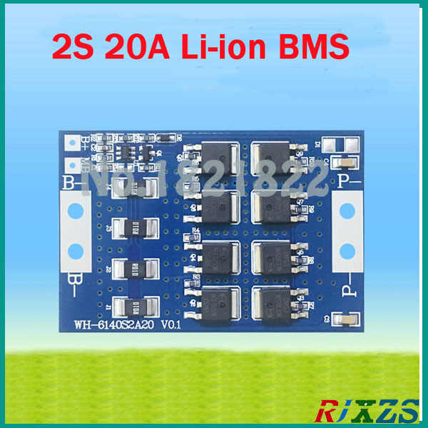 2S 20A Li-ion 8 4V lipo DIY BMS PCM battery protection board bms pcm for  li-ion lipo battery cell pack