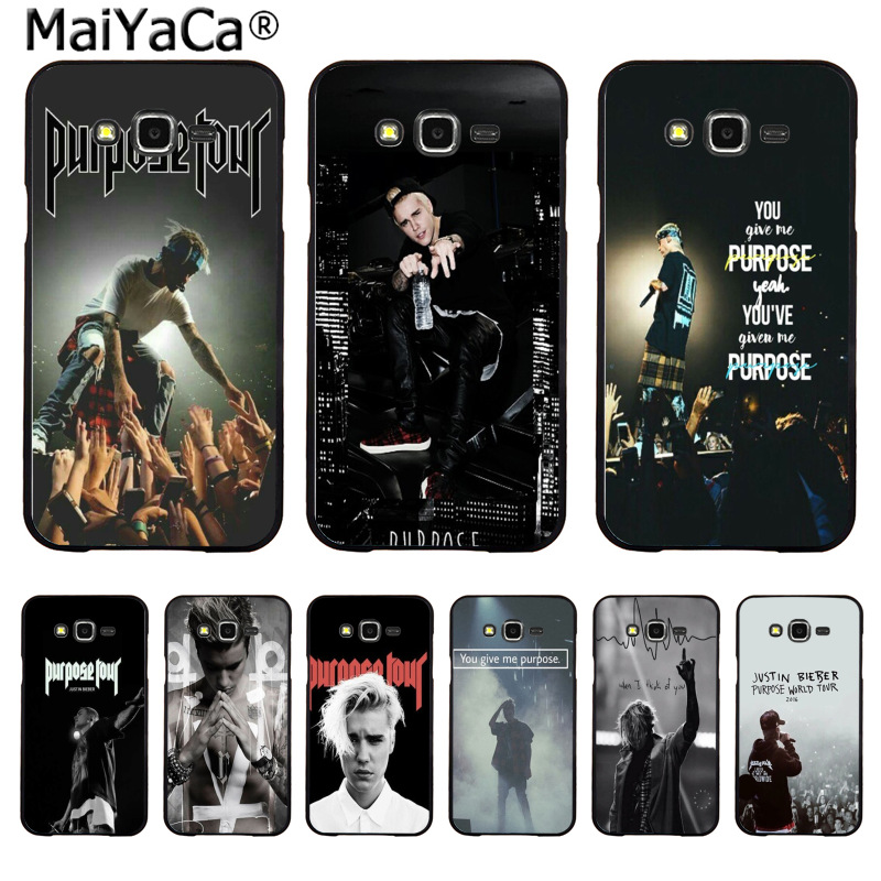 Maiyaca Джастин Бибер цель альбом Новое поступление Мода чехол для телефона Samsung 2015 J1 J5 J7 2016 J1 J3 J5 j7 Note3 4 5