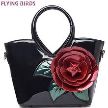 Летящие птицы! Женская сумка, Элегантные женские кожаные сумки, ретро сумки через плечо, сумки известных брендов, женская сумка с цветами, LM3027fb