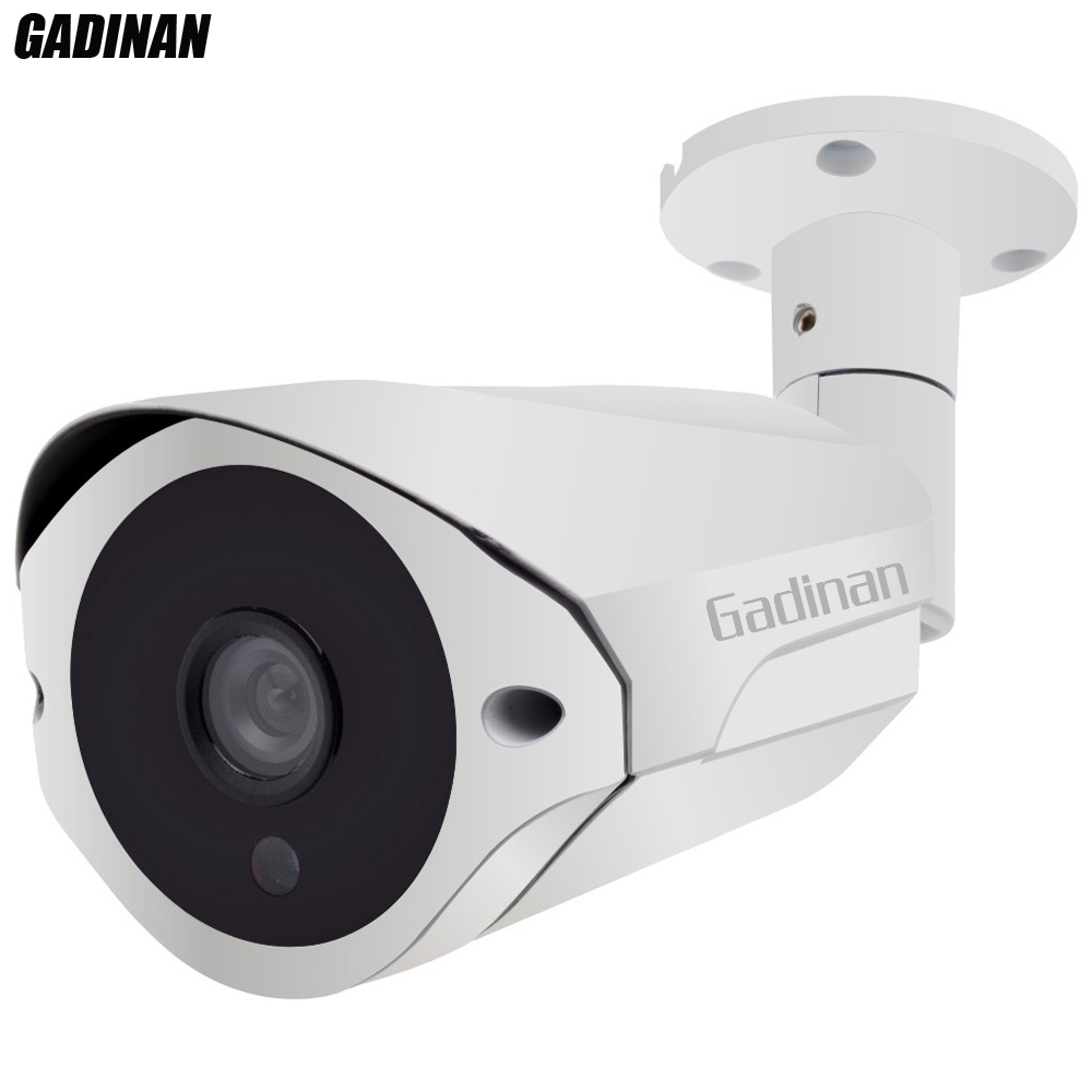 GADINAN AHD Camera 3MP 4MP 2560*1440 Optional Bullet Outdoor Waterproof Security Metal Shell Video Surveillance 36pcs IR Leds wistino cctv camera metal housing outdoor use waterproof bullet casing for ip camera hot sale white color cover case