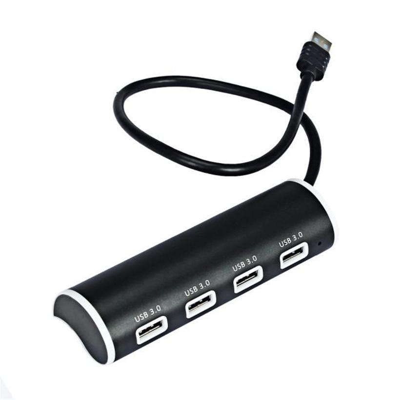 Advanced 2017 Computer font b Accessories b font New Black Super Speed USB 3 0 HUB