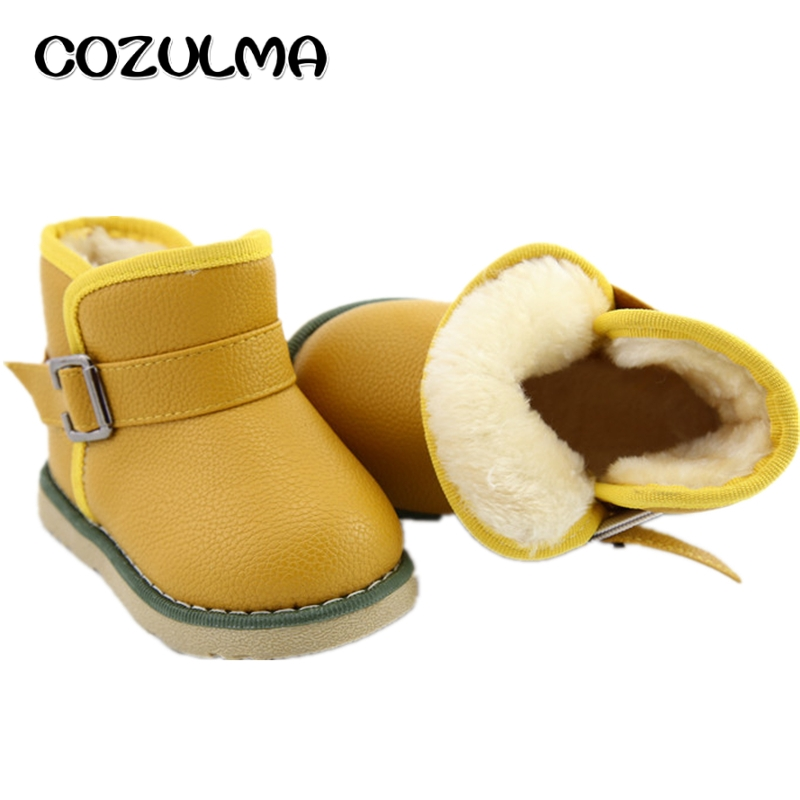 COZULMA-Kids-Winter-Snow-Boots-Girls-Boys-Warm-Plush-Snow-Boots-Shoes-Children-Snow-Boots-with-Fur-Baby-Kids-Winter-Cotton-Shoes-4