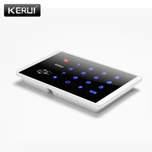 K16 Wireless RFID Touch Keyboard For PSTN GSM Home Personal House Alarm System 433MHz  Wireless Password Keypad system