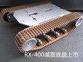 Rx-400 flexible amortiguación Tyrant oro robot orugas vehículo vehículo utilitario deportivo de montañismo vadeando placa de desarrollo del microcontrolador