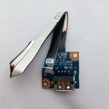 Original USB Port Jack Board w/ Cable For Lenovo G780 Series,P/N LS-7987P NBX0000UI00