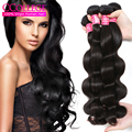 Hot Brazilian Body Wave 4 Bundles 7A Mink Unprocessed Virgin Brazilian Hair Body Wave Amazing Hair Company Brazilian Body Wave