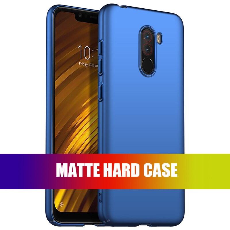 For-Xiaomi-Pocophone-F1-Case-Hard-Matte-Back-Cover-Pocofone-Poco-F1-Slim-Shockproof-Skin-Single (2)