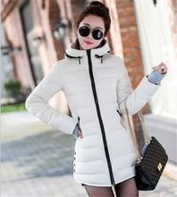 New Women's Winter Jacket Wadded Jacket Female Down Cotton Jacket Slim Parkas Ladies Coat Plus Size M-XXXL CC276