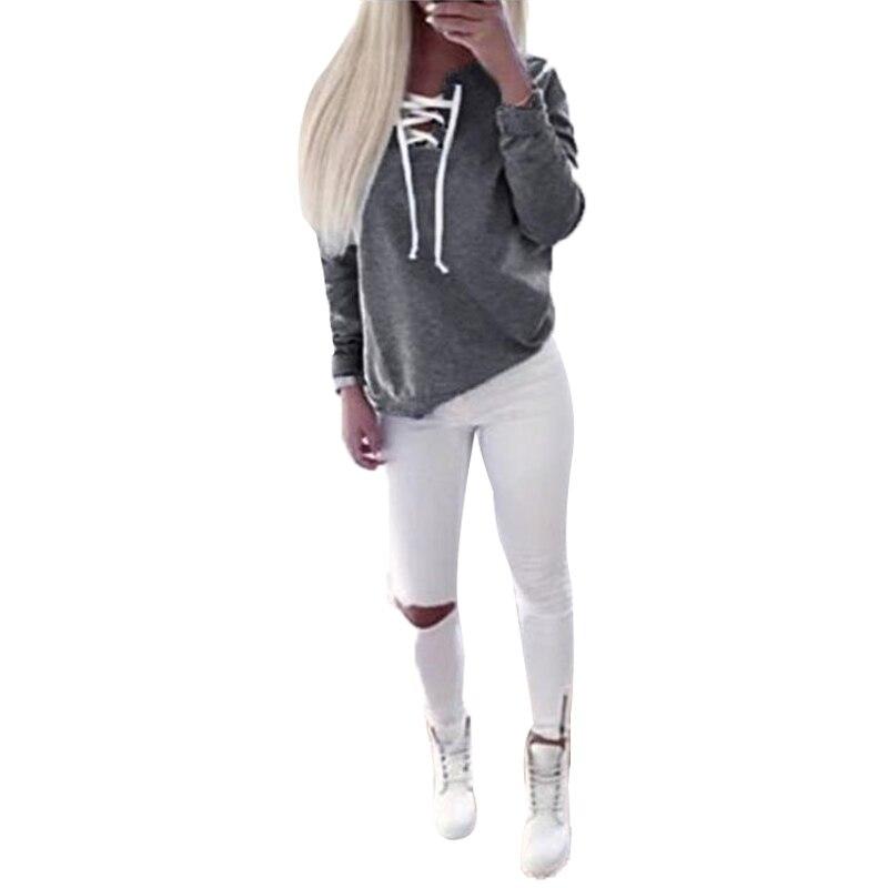 Women Sweatshirt Hoodies Long Sleeve Harajuku Hoodied Casual Pullover Sweatshirts Sudaderas Mujer Clothes  LJ5243M