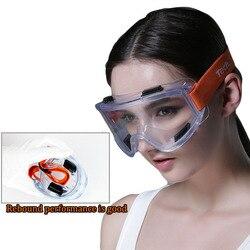 Okulary ochronne wiatroszczelne anty-piaskowe przezroczyste okulary ochronne wysokiej jakości odporne na uderzenia przemysłowe okulary ochronne