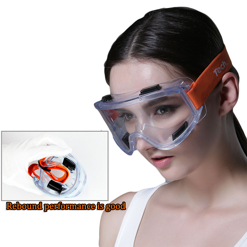 Safety Goggles Windproof Anti-sand anti-splash Transparent Goggles High Quality Anti-impact Industrial Labor Protective Glasses anti impact soft head sorbothane mallet high impact absorption
