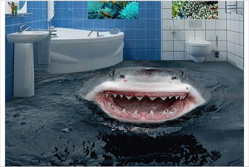 . Image Gallery shark bathroom