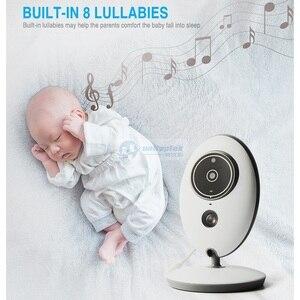 Image 4 - 2.4 Inch 2.4GHz Wireless Video Baby Monitor Color Camera Intercom Audio Night Vision Temperature Monitoring Babysitter Nanny