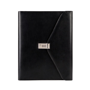 Image 2 - Fichario Binder A4 Document File Folder With Lock Business Organizer File Cabinet Holder Manager Padfolio Password Briefcase Bag