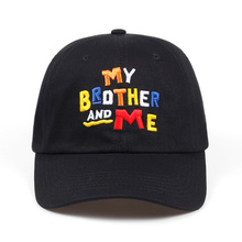 High Quality black my brother & me dad cap hat Snapback