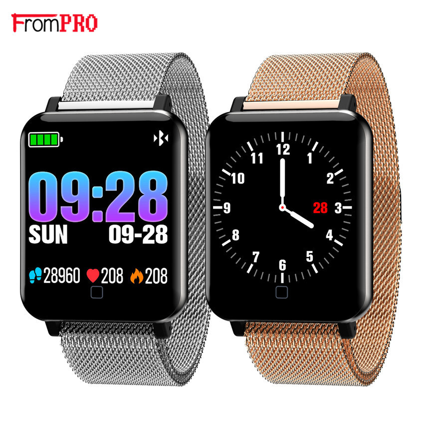 F19 Sports Smart Watch Wristband Heart Rate Monitor Blood Pressure Bracelet Fitness Tracker Band clock  for Android IOS phonesF19 Sports Smart Watch Wristband Heart Rate Monitor Blood Pressure Bracelet Fitness Tracker Band clock  for Android IOS phones