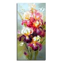 Бабочки и цветы 40 x 80 поделки алмазов картина украшение дома стразами стены стикеры вышивка рукоделие