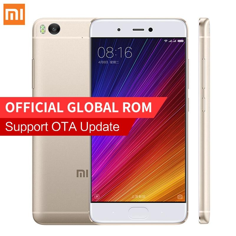 Lowest Price! Original Xiaomi Mi 5s Mi5s Smartphone 3GB RAM 64GB ROM 5.15'' Snapdragon 821 Mobile Phones Fingerprint ID MIUI 8