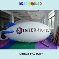 4 meters Long Inflatable Advertising Blimp/Airship/Zeppeline with different LOGO as you want /FREE Shipping