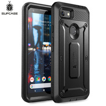 For Google Pixel 3a Case (2019 Release) SUPCASE UB Pro Full Body Rugged Holster Protective Case with Built in Screen Protector