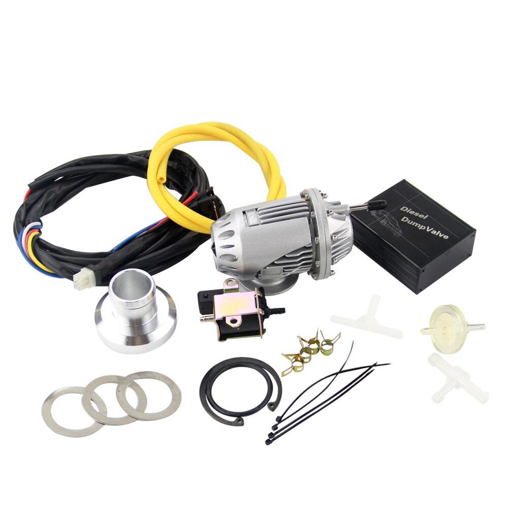 VR-электрические дизельные SSQV4 SQV4 предохранительный клапан/дизель-дампа клапан/Дизель BOV SQV комплект серебро, черный VR5730+ 5011 Вт - Цвет: without logo