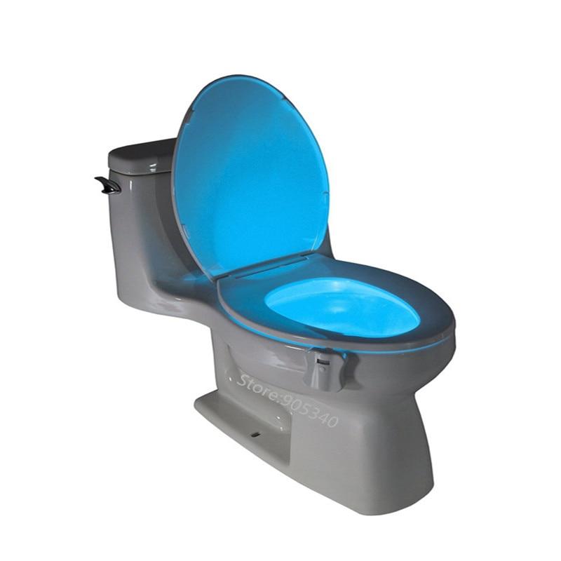 Magic Toilet Night Light Motion Sensor Activated Seat Toilets
