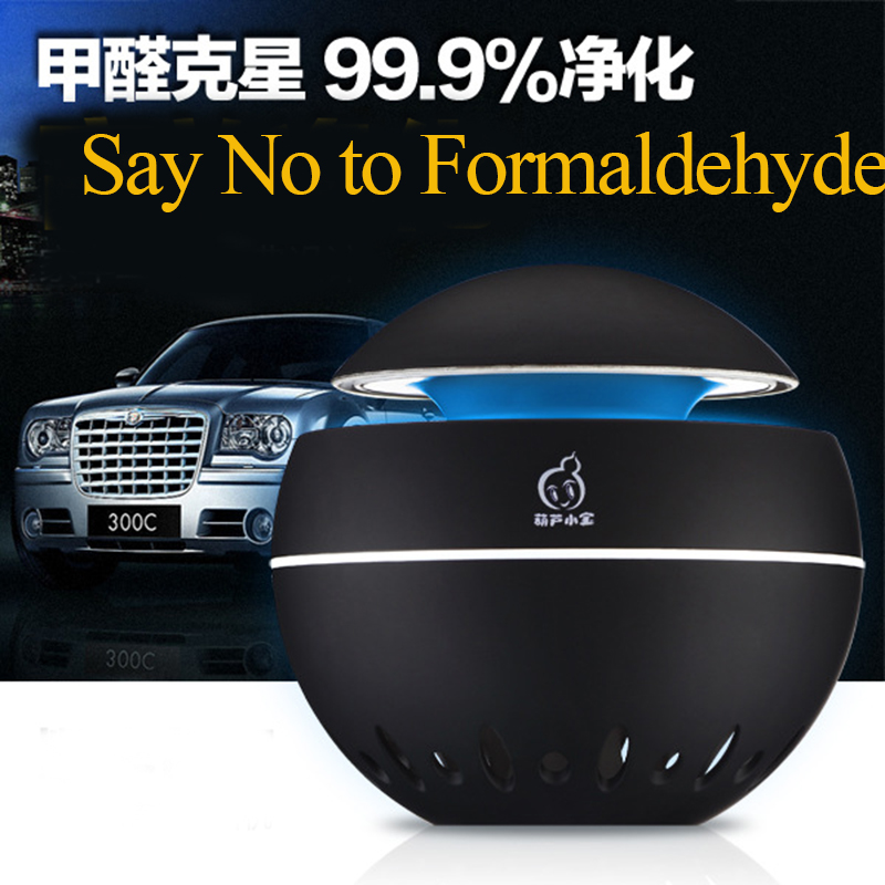 2017 Newest USB Car Air Purifier For Fresh Air Car Aromatherapy Oxygen Bar Anion In Addition To Formaldehyde Taste tcl air purifier tkj200f household living room removing haze formaldehyde pm2 5 secondhand smoke anion oxygen bar free shipping