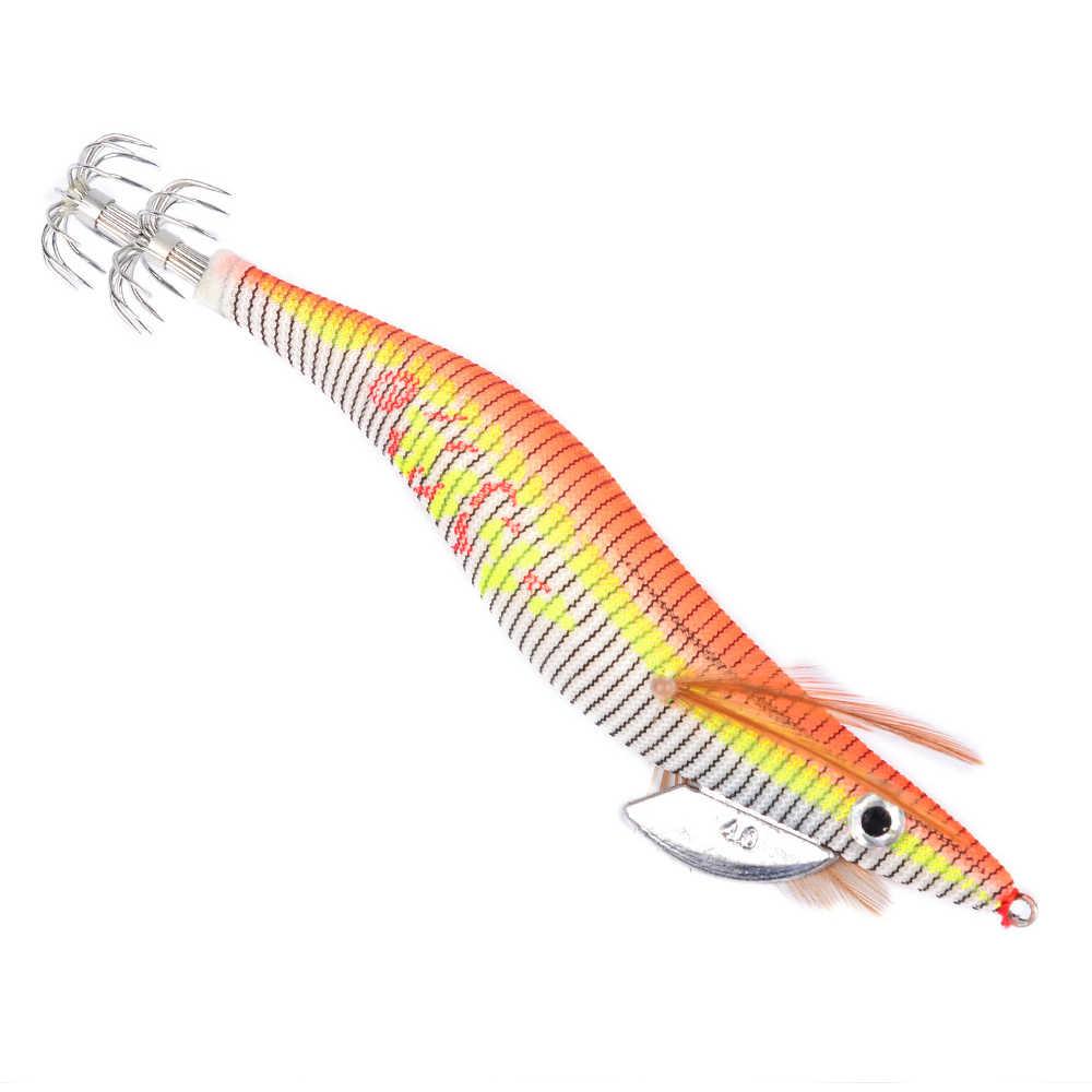 6 шт. светящиеся в драке креветка-кальмар джиг, приманка для рыбалки креветка снасти Крючки приманки снасти 8 10 12 15 см для каракатицы осьминог