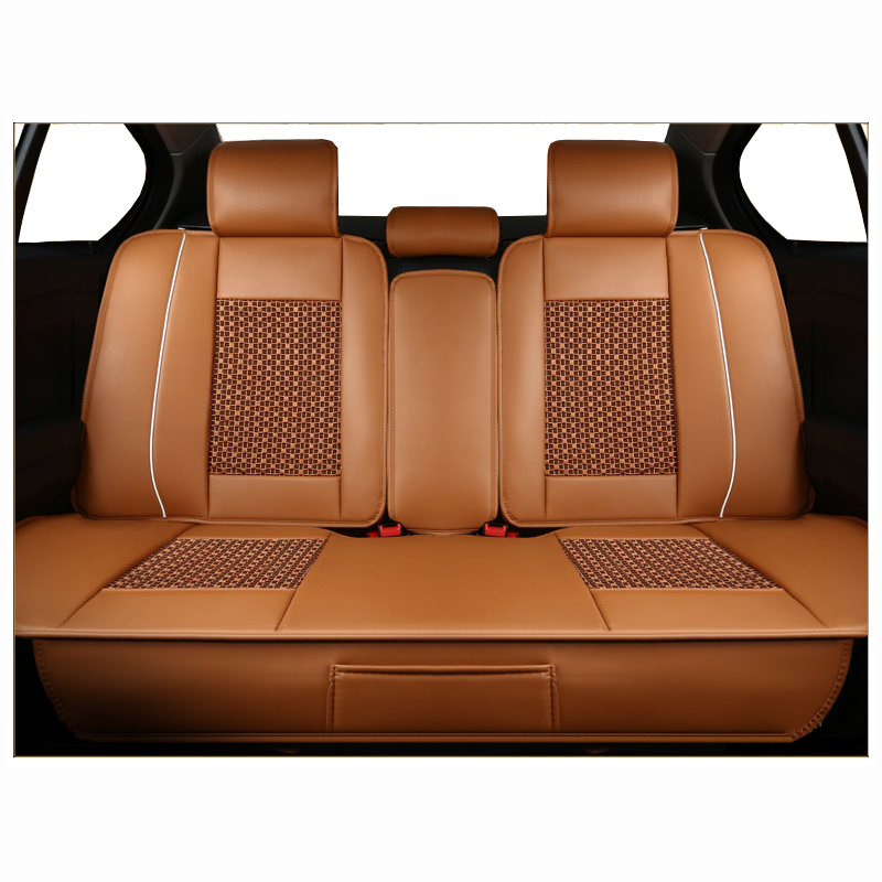 Rear Universal PU Leather Car Seat Cover for Honda All Models CRV XRV Odyssey Jazz City crosstour S1 CRIDER VEZEL Accord fitauto автомобильная ключница cool wind crv xrv