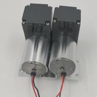 12 24 V Volt Mini Brushless DC Diaphragm Air Inflate&Suction Vacuum Pump