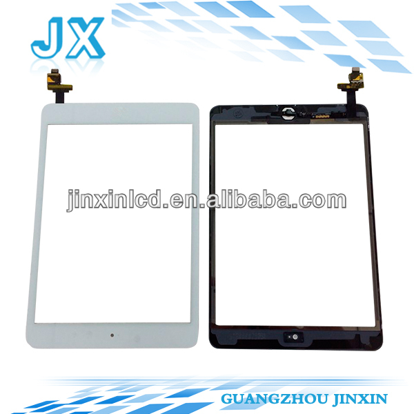 10PCS LOT full new grade AAA touch screen For ipad mini with original ic chip assembly