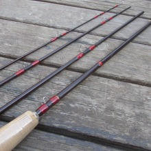 8FT 4 Pieces Carbon Fly Fishing Rod Pole #5/6  2.44M length Light Feel Medium-Fast Action